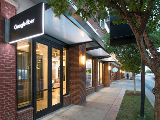 Google Fiber retail location in Nashville