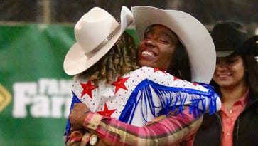 Khalilah Smith is the first black rodeo queen in Michigan State history