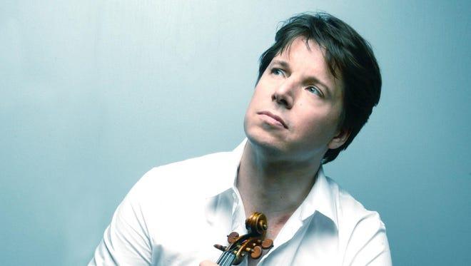 World-class violinist Joshua Bell will perform at the Schermerhorn on Tuesday.