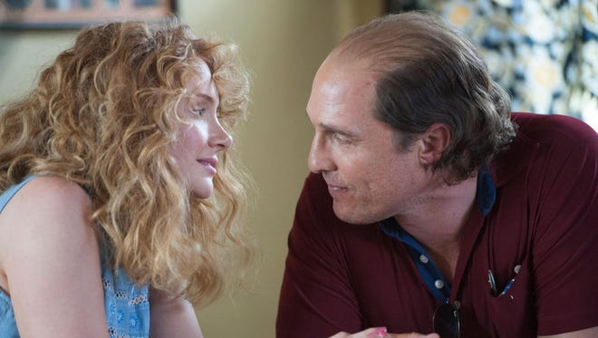 Bryce Dallas Howard (as Kay) and Matthew McConaughey (as Kenny Wells) co-star in 'Gold.'