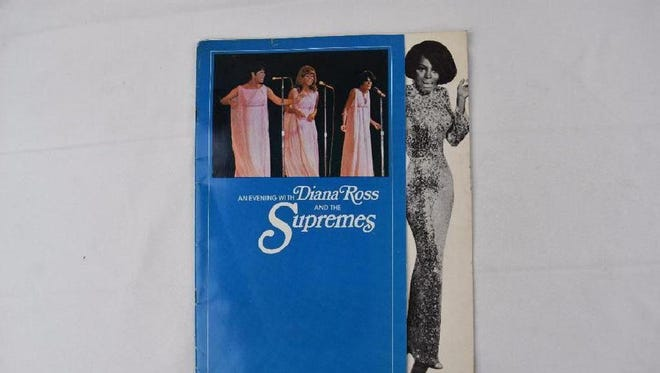 Here's your chance to bid on a Diana Ross & The Supremes 1968 concert program/