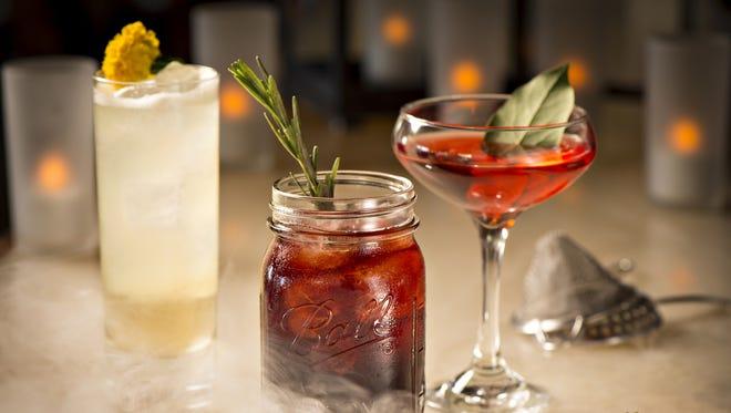 Halloween cocktails.