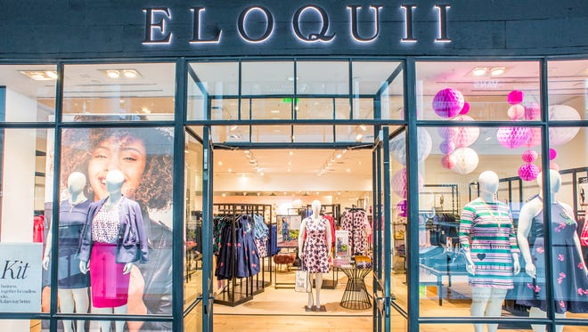 Plus-size fashion retailer Eloquii has opened a store in Twelve Oak Mall. The Washington D.C. store is shown here