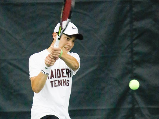 Luke Smith - Section 1 Boys Tennis Finals
