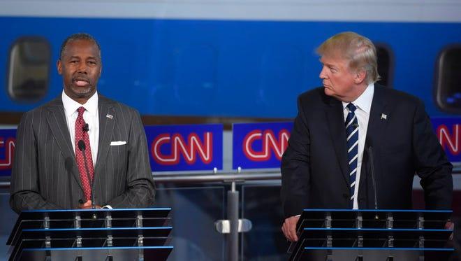 Republican presidential debate in Simi Valley, Calif., on Sept. 16, 2015.