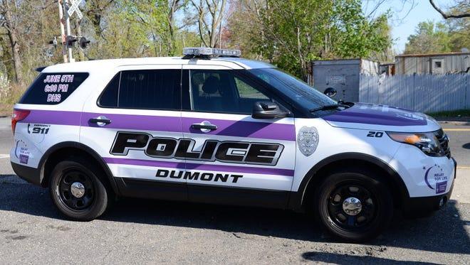 Dumont police car.