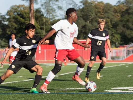Point Pleasant Boro Boys Soccer edged out by Ocean