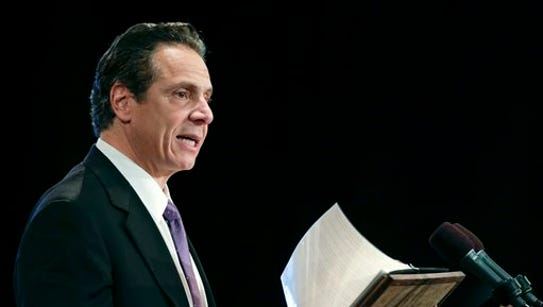 Gov. Andrew Cuomo delivers his State of the State address