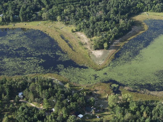 What was once a lake known for bass fishing, Long Lake in Plainfield has become a marsh after its water levels plummeted.