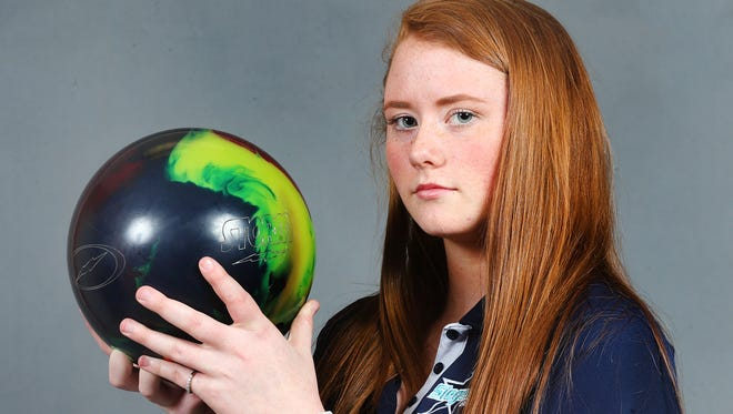 Danielle Jedlicki headlines The Daily News Journal's All-Area Girls Bowling Team.