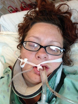Oakland County Sheriff's Office released this hospital photo of woman found unconscious in Independence Township.
