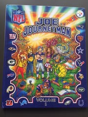 """Volume 2"" of the book, featuring the other 16 NFL"
