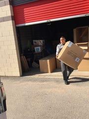 El Paso's Braden Aboud Foundation donated 500 blankets