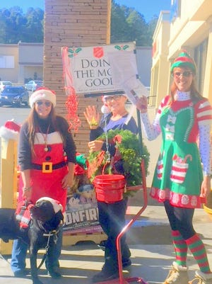 This is the lat week for the Salvation Army bell ringers, who volunteer to remind the public to give to those in need.