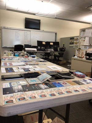 Through investigations conducted by authorities from Ventura and Los Angeles counties, police uncovered an identity theft lab in Agoura Hills.