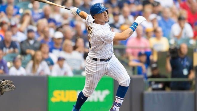 Hernan Perez will get a shot to bat leadoff in the Brewers' lineup.