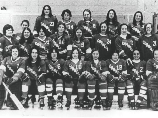 The women's team did not have its own locker room, and players had to dress for practices in Lynah Rink's public-skating warming room. Much of their equipment was borrowed or adapted from what the men's team used, and their travel accommodations were less than luxurious.