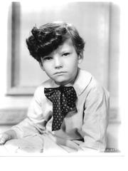 """Mickey Kuhn as Beau Wilkes in """"Gone with the Wind."""""""
