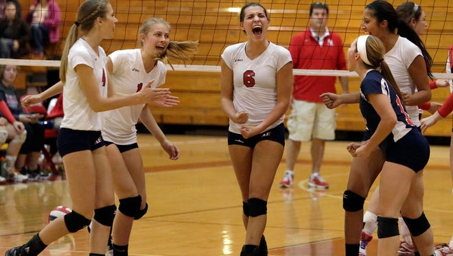 Members of the Appleton East girls' volleyball team will be Wednesday's guests on Varsity Roundtable.