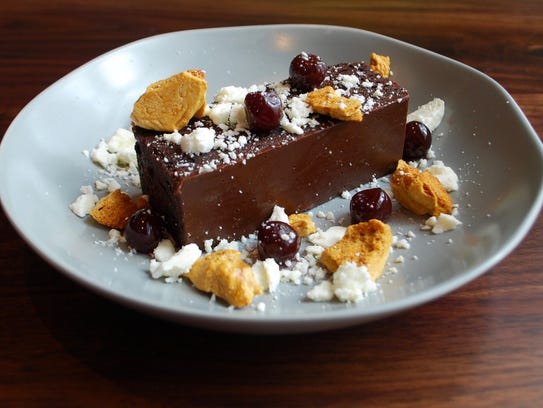 Chocolate Malt Cake at the 404 Kitchen in the Gulch.