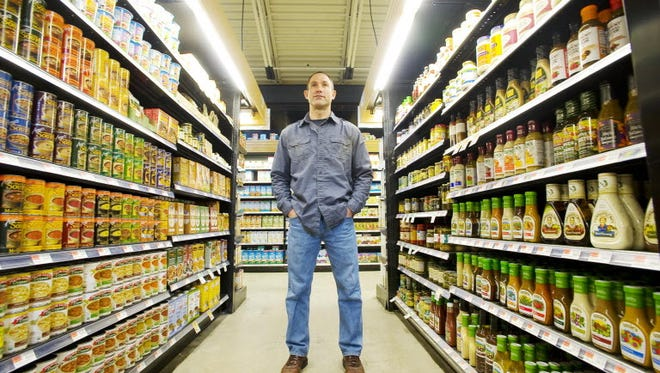 Jeff Weinstein, managing partner of Two Guys of Vermont, photographed at the Hunger Mountain Co-op in Montpelier, Vt., on April 11, 2012, is in favor of labeling genetically modified food.