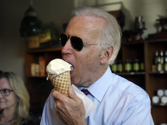 Author Andrew Shaffer pokes fun at Joe Biden's love