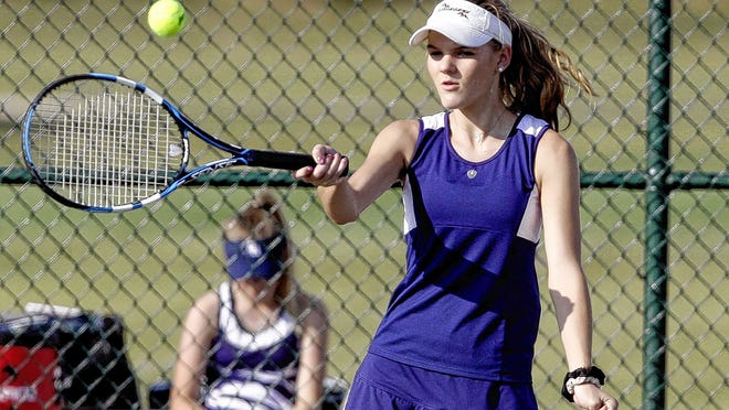 Senior Kate Kukura returns to help lead the Grandview Heights girls tennis team under eighth-year coach Kathy Kinnard. Kukura is in her fourth year starting in doubles.