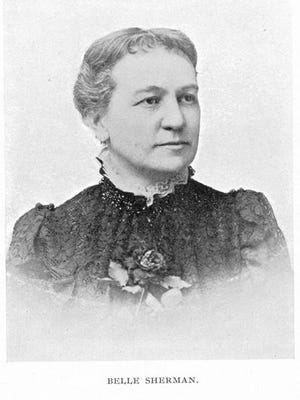 Belle Sherman helped create a fund for the City Hospital to be used for care of teachers, high school students and self-supporting women.
