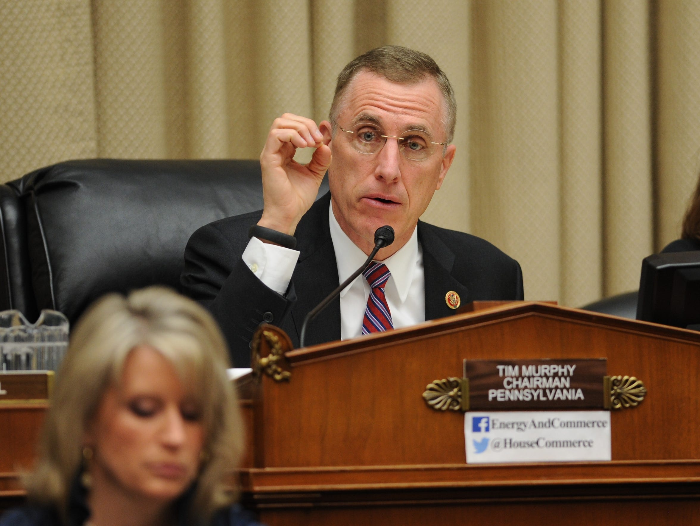 Rep. Tim Murphy, R-Pa., chairs a congressional hearing