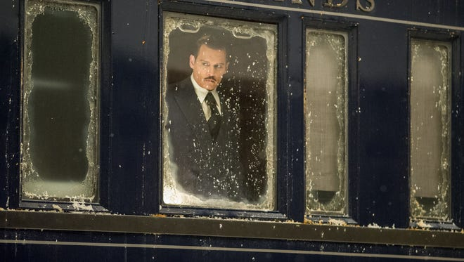 "Johnny Depp stars in ""Murder on the Orient Express."""