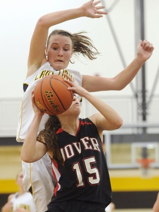 Red Lion's Erica Maciejewski passed the 1,000-point mark in the Lions' win over Dover last Friday.
