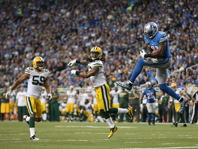 calvin johnson lions scores - photo #5