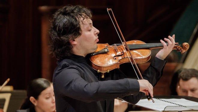 Violinist Yevgeny Kutik dazzled the audience in Prokofiev's Violin Concerto No. 1.