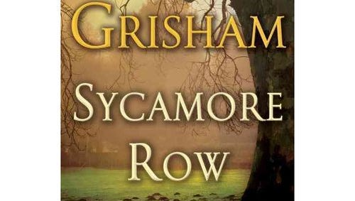 "John Grisham's ""Sycamore Row"" is at the top of the best sellers' list."
