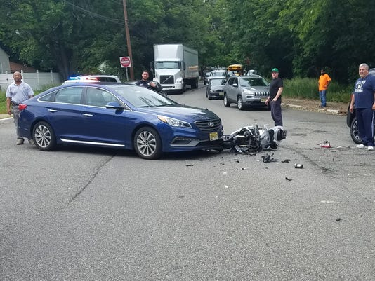 Motorcycle accident Clifton