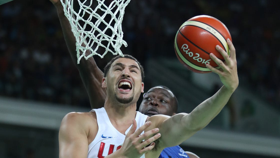 U.S. men's basketball hangs on to defeat France at Rio ...