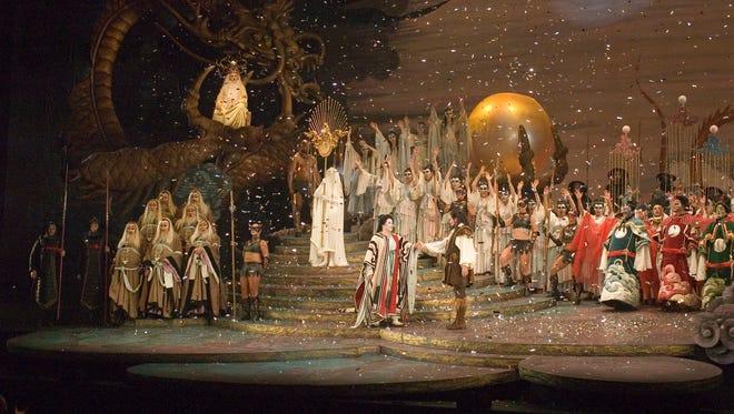 "Nashville Opera presents ""Turandot"" Oct. 8 and 10 at TPAC's Andrew Jackson Hall."