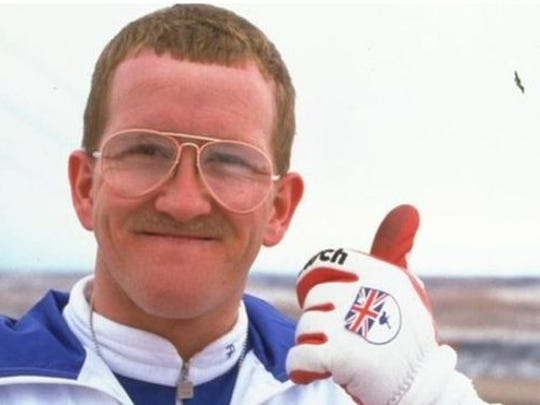"Michael Edwards, the real ""Eddie the Eagle."""