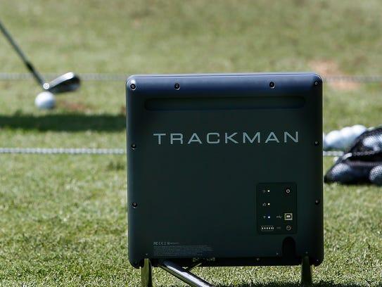 PGA tour golfer Francesco Molinari uses the TrackMan