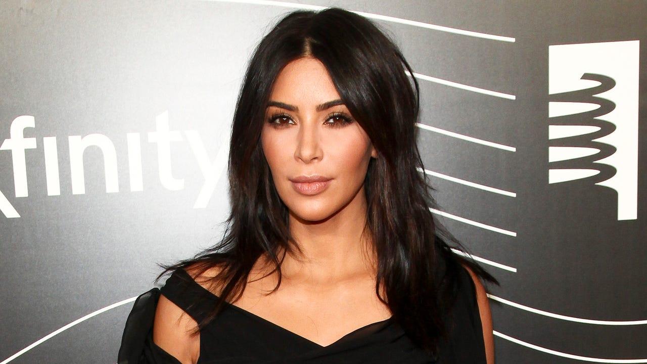 kim kardashian west leaves new york home