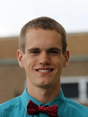 Elmira Notre Dame senior Matt Karee.
