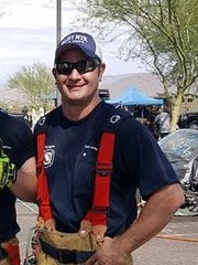 A Daisy Mountain firefighter, 37-year-old Luke Jones,