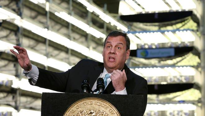 Gov. Chris Christie is pushing for the passage of legislation on Atlantic City's finances.