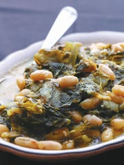 Classic greens and beans has nice garlic flavor—a bit bigger than most we've had—but not overdone.