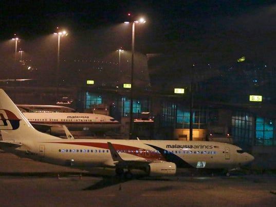 EPA MALAYSIA AIRLINES PLANE CRASH