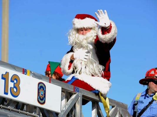 Pensacola Beach Christmas Parade 1