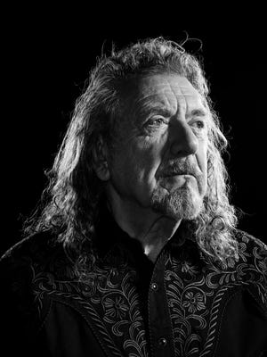 Singer/songwriter Robert Plant at the Bowery Hotel in New York City.