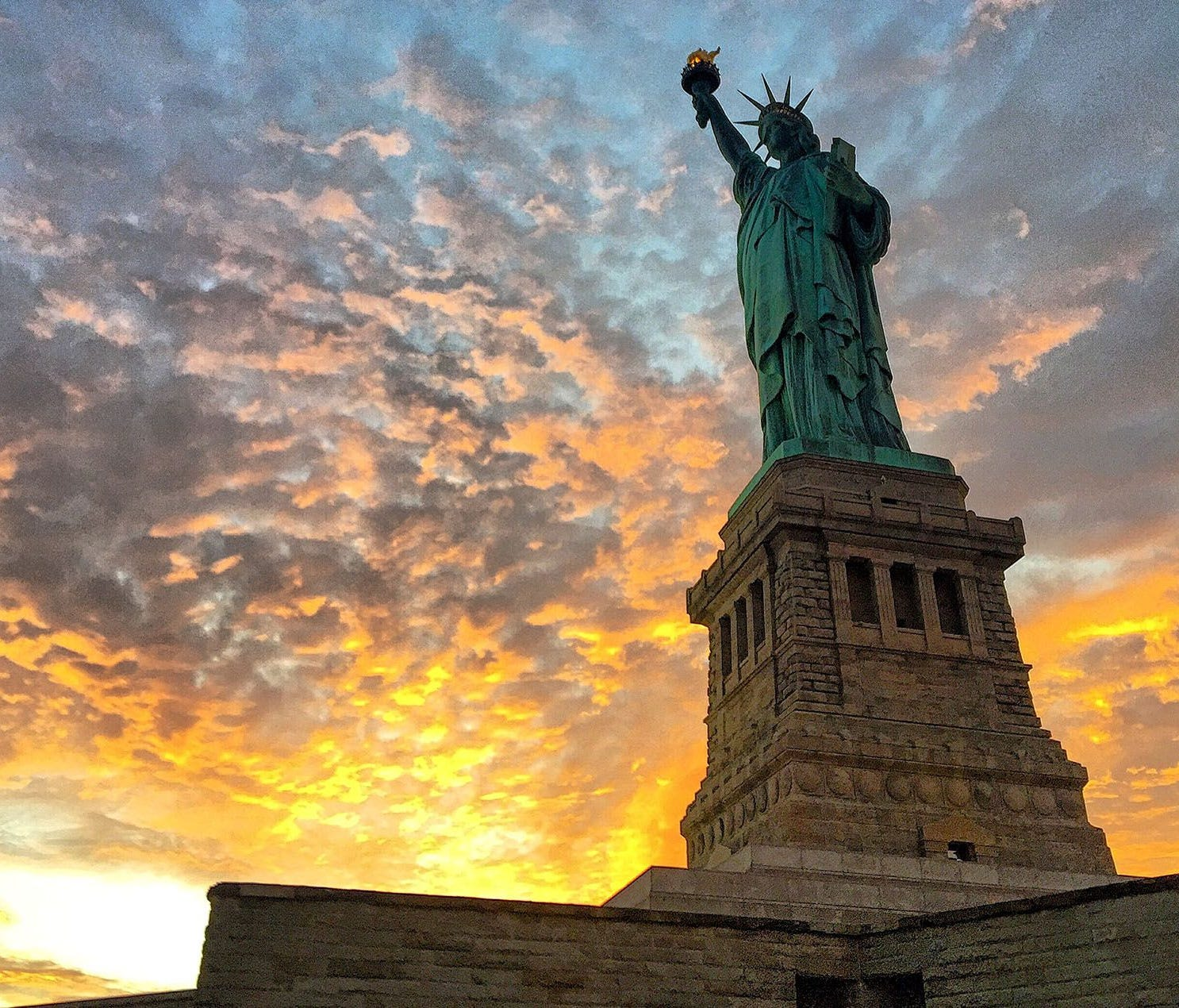 19. Statue of Liberty National Monument (4,501,547 visitors) -