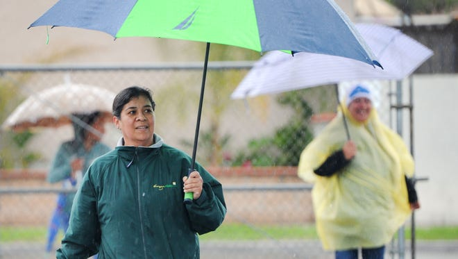 STAR FILE PHOTO Rain is expected to arrive in Ventura County on Wednesday or Thursday.