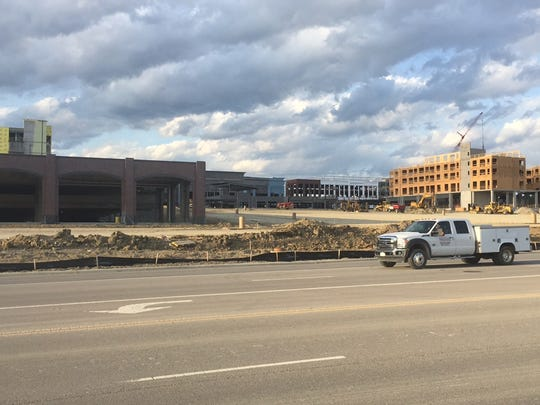 The expansive $350 million Liberty Center in Butler County is scheduled to open in October and it may also be the future site of Liberty Township's first open-drink zone. An Ohio bill that would allow outdoor drinking in designated areas is awaiting the governor's signature.